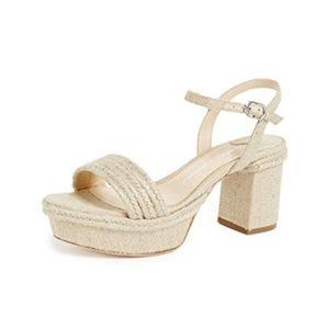 CLEARANCE |  Isa Tapia Playa Platform Sandals